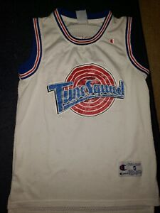 the best attitude fba0c 92869 Details about Champion Tune Squad Michael Jordan Space Jam Jersey Size  Small 23