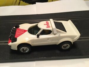 Scalextric Lancia Stratos ref 4055/4065 white boxed