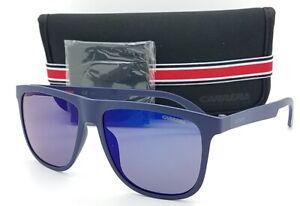 NEW-Carrera-sunglasses-Mens-5003-ST-KRW-Matte-Blue-Sky-Mirror-AUTHENTIC-5003-new