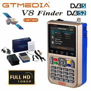 Buscador-de-satelites-GTMedia-V8-Satellite-Finder-Meter-DVB-S2X-HD-LCD-Satfinder