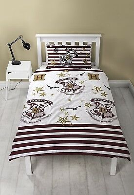 Harry Potter Reversible Single Bedding Set House Crest BRAND NEW AND SEALED