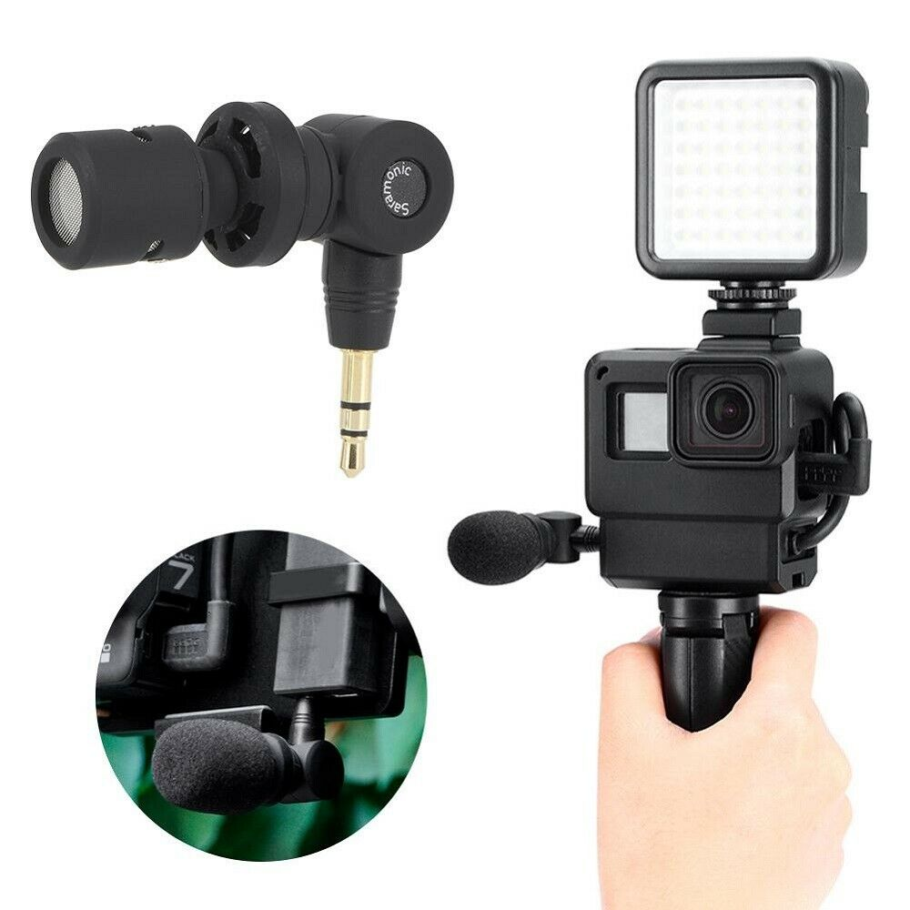 SR-XM1 3.5mm Wireless Omnidirectional Microphone for DJI Osmo Action Osmo Pocket