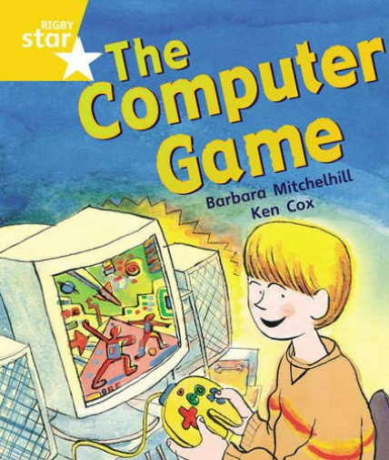 Rigby Star Guided Year 1 Yellow Level: The Computer Game Pupil Book... BOOK NEUF