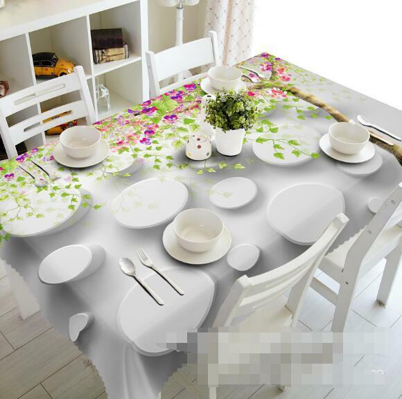 3D Tableware 7 Tablecloth Table Cover Cloth Birthday Party Event AJ WALLPAPER AU