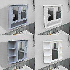 WestWood-Wall-Mount-Mirror-Bathroom-Cabinet-Unit-Storage-Cupboard-With-Shelf