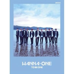 Wanna-One-1st-Mini-album-1x1-1-To-Be-One-Sky-Ver-CD-Poster-Card-Booklet