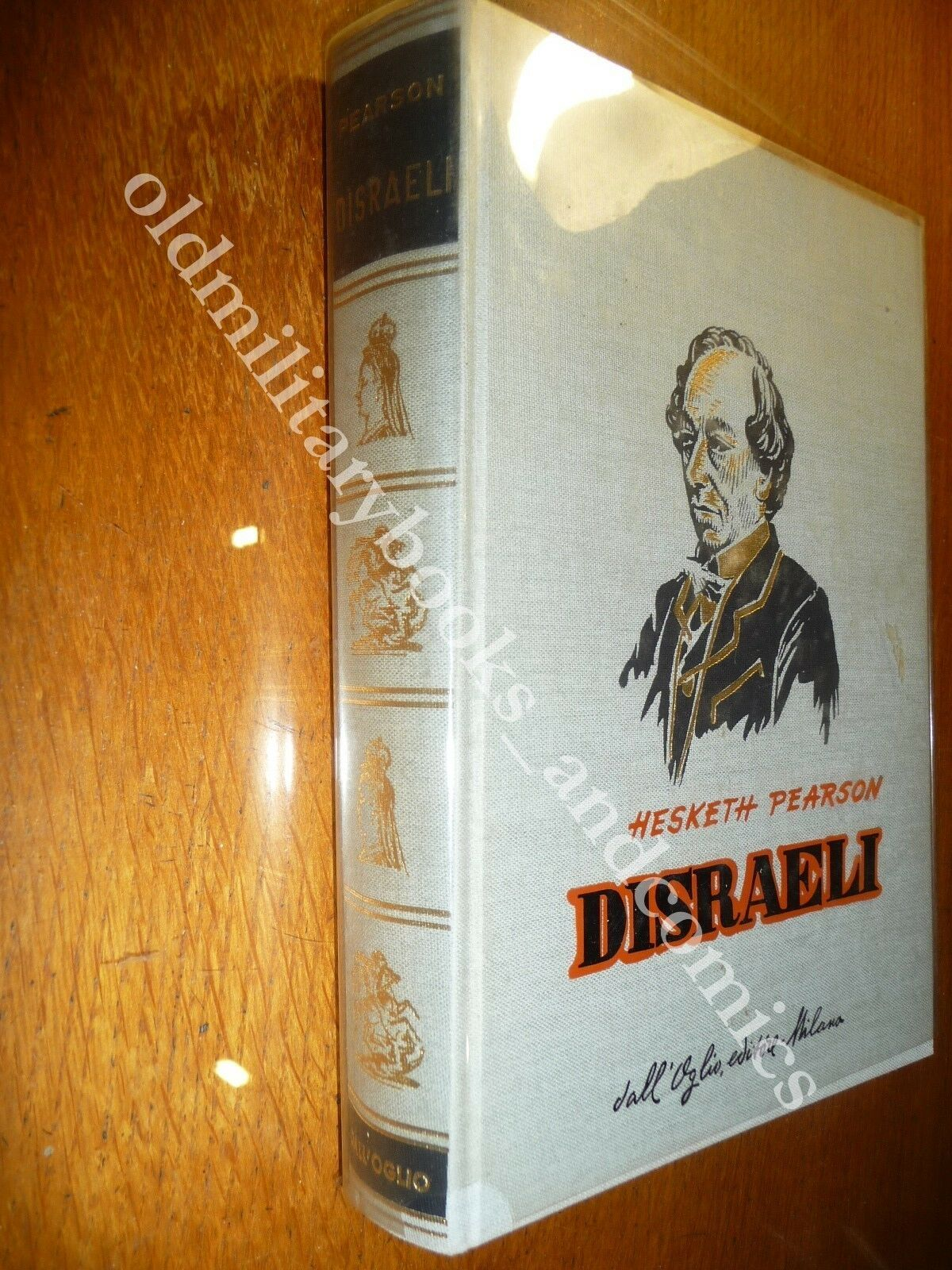 DISRAELI HESKETH PEARSON BIOGRAFIA IMPORTANTE STATISTA ETA VITTORIANA no SOVRACC