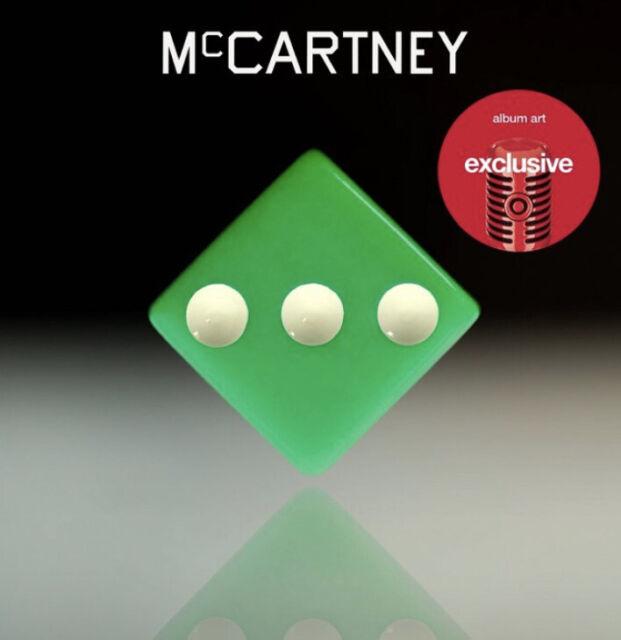 Paul McCartney III 3 Target Exclusive CD 2020 Pop Rock Icon
