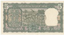 OLD 5/- 4 DEERS BANK NOTE IN UNC RARE..........