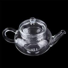 Heat Resistan Glass Teapot With Infuser Coffee Tea Leaf Herbal Pot 250ml top #L