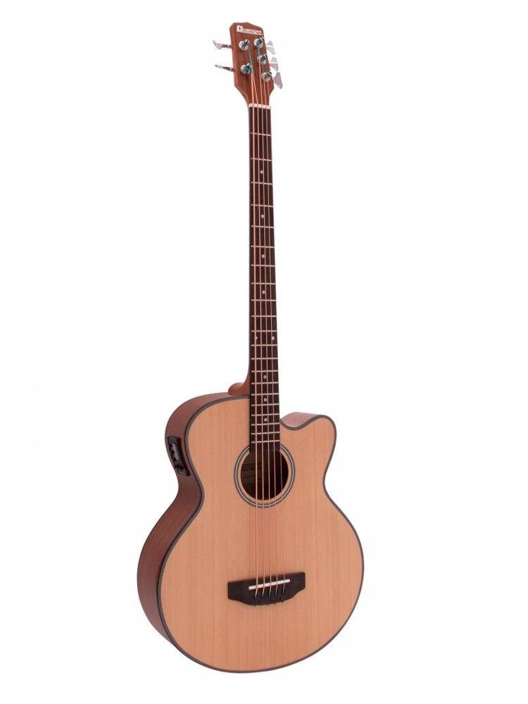 DIMAVERY ab-455 acustica Bass, 5-saitig, naturale