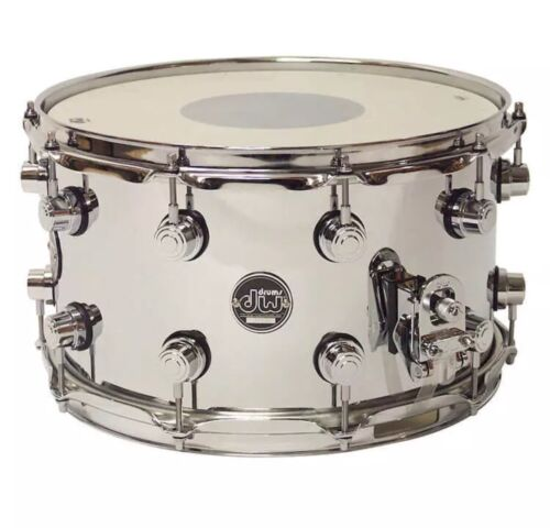 DW Performance Chrome Over Steel Snare Drum 14x8