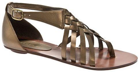 70 madden girl Fayee Sandales  Nouveau bronze métal sz 8.5