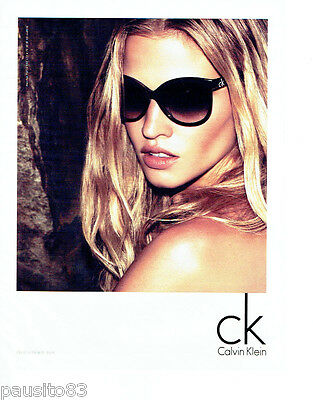 Publicite Advertising 086 2012 Calvin Klein Lunettes Solaires Other Breweriana Breweriana, Beer