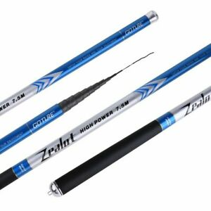 Stream-Fishing-Rod-Telescopic-Spinning-Rod-2-7M-7-5M-Hand-Pole-Comb-Carbon-Rod