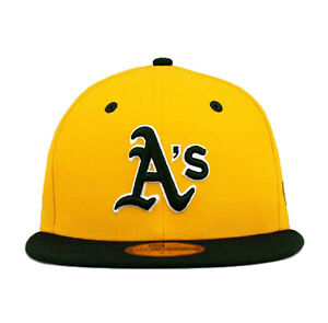 New-Era-59fifty-Oakland-Athletics-Squadra-Flip-Giallo-Verde