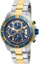 Invicta 22415 Men's Blue 45mm 'Pro Diver' Quartz Stainless Steel Casual Watch