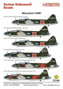Techmod-1-72-Mitsubishi-G4M1-Betty-part-1-72149