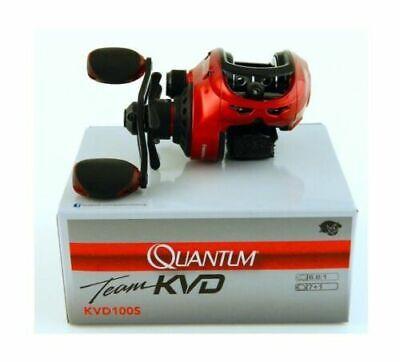 Quantum équipe cette méthode Performance Tuned KVD100S Droitier Baitcast 6.6 1 Moulinet NEUF