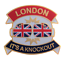 縮圖 1 - London - It's A Knockout Boxing Gloves Pin Badge