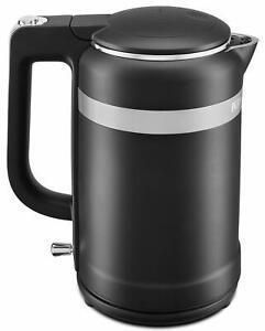 Kitchenaid Kek1565bm Electric Kettle 1 5 Liter Black