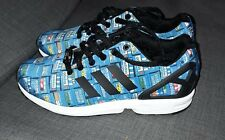 b34ce20b585b item 1 ADIDAS ZX FLUX SHOE BOX PRINT BA9913 MENS TRAINERS size 8 Limited  Edition Used -ADIDAS ZX FLUX SHOE BOX PRINT BA9913 MENS TRAINERS size 8  Limited ...