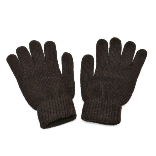 Men/'s Winter Warm Knitted Gloves Male Thicken Thermal Wool Gloves Mittens Gift