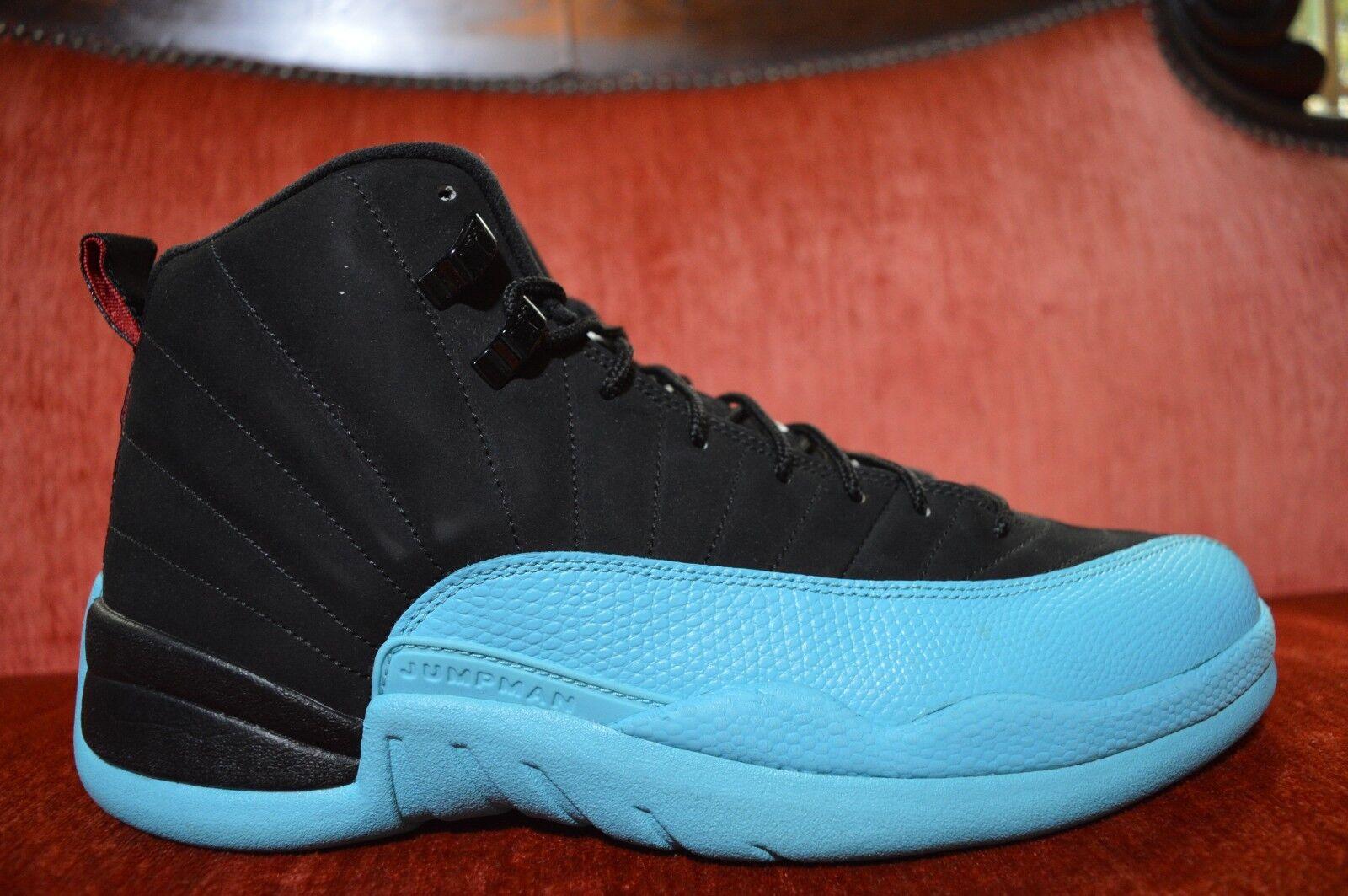 e2088475ea6 WORN 1X Nike Air Jordan XII 12 Retro bluee 130690-027 Size 10.5 Black Gamma  Black nxtjxy319-Athletic Shoes