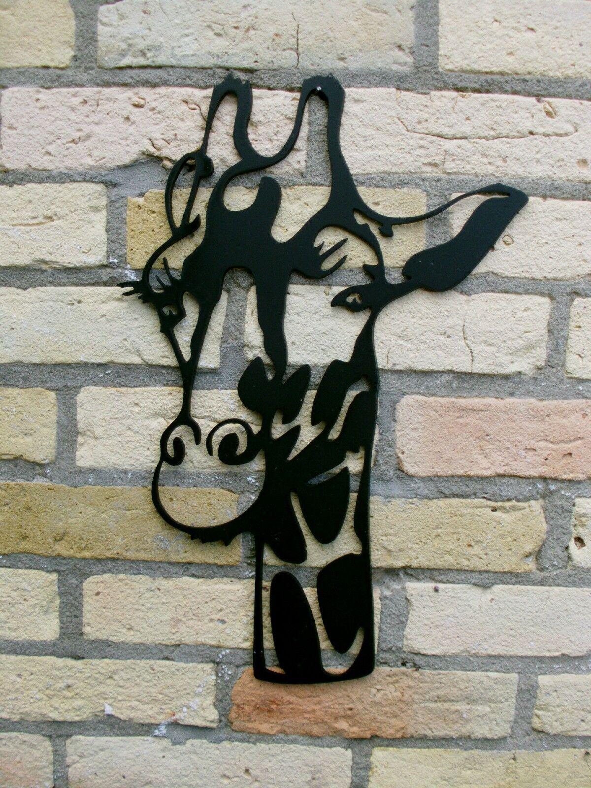 Wanddeko eine eine eine GIRAFFE zum Verlieben aus 3 mm STAHL 40-90 cm ab 59 -  41a10e