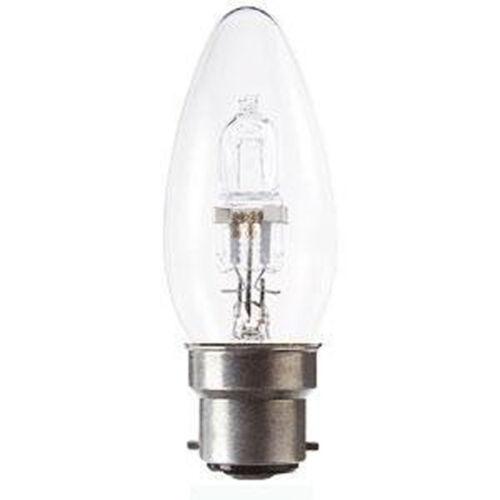 10 bougie forme faible économie d/'énergie lampe halogène ampoules 40w//60w ses//bc