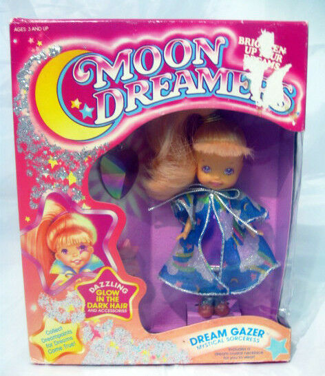 Moon Dreamers Dream Gazer  HASBRO vintage doll glow