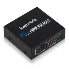 Kwmobile ® 1auf2 HDMI de distribución astilla conmutador transductores adaptador cable 1080p