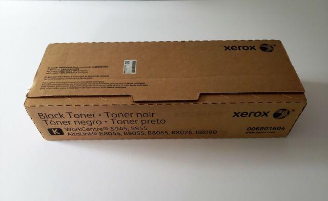Xerox WorkCentre 5945 5955 006R01604 Black Toner 2 cartridges OEM