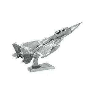 Fascinations-Metal-Earth-F-15-Eagle-Plane-3D-Laser-Cut-Steel-Puzzle-Model-Kit