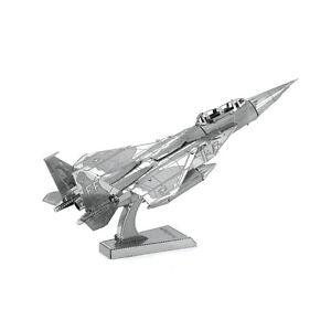 Fascinations-Metal-Earth-F-15-Eagle-Plane-3D-Laser-Cut-Steel-Puzzle-Model-Kit