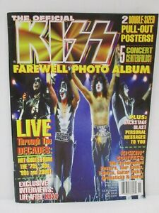 Kiss-Official-Farewell-Tour-Photo-Album-Magazine-Metal-Edge-Winter-2000-Posters