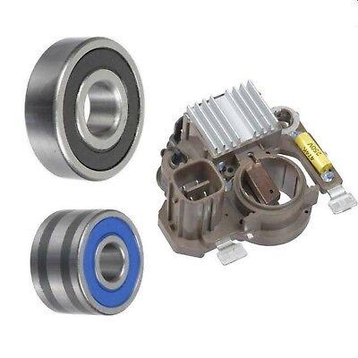Bearings Brushes Alternator Kit for 02-05 GMC Envoy Trailblazer 4.2L Regulator