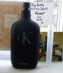 01ba628ed Calvin Klein CK BE~ EDT~10ML Decant Travel Atomizer + FREE SHIPPING ...