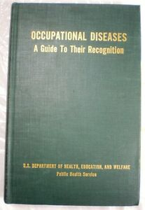 Details about Occupational Diseases US Dept of Health ASBESTOS Asbestosis  Lung Cancer 1964