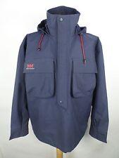 Vintage HELLY HANSEN Waterproof Half Zip Jacket | Fits L | Sailing Nautical