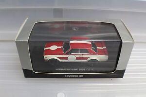 1-43-Nissan-Skyline-2000-GT-R-KPGC10-03027A-Kyosho-diecast-car-old-stock