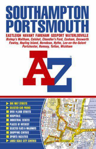 1 of 1 - Southampton & Portsmouth Street Atlas by Geographers A-Z Map Company | Paperback