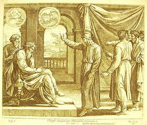 Joseph Interprétant Les Songes Du Pharaon La Bible Nico Chaperon 1649 Ap Raphaël