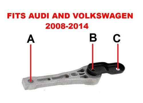 VW GENUINE Lower Gearbox Transmission Dogbone Mount Bolt Kit  For Audi VW