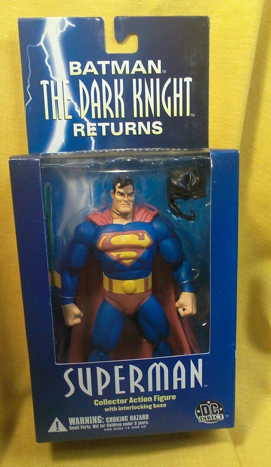 Superman The Dark Knight Returns figure 2004 DC Direct NOS MIB never opened JLA