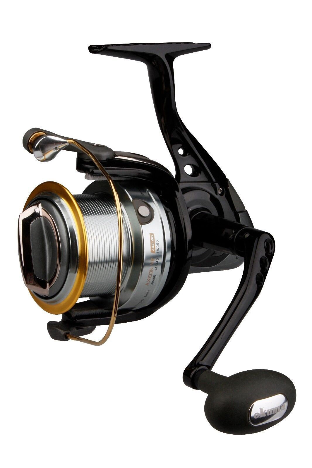 OKUMA AXEON V2 AXII-60 COARSE FISHING REEL CARP BARBEL PIKE ZANDER BIG PIT SURF