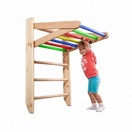 gioco Center Si arrampichi muro Bambini Sport dispositivo i germogli muro 240x80 Giocattolo in legno