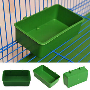 Aviary-Cup-Bird-Parrot-Pet-Cage-Green-Water-Food-Bowl-Feeding-Bath-Cage-Supplies