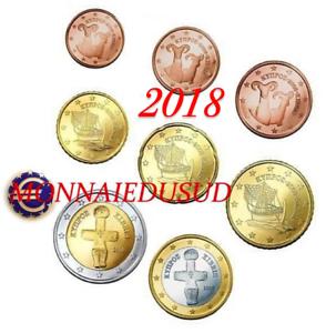 Serie-1-Cent-a-2-Euro-Chypre-2018-Serie-UNC