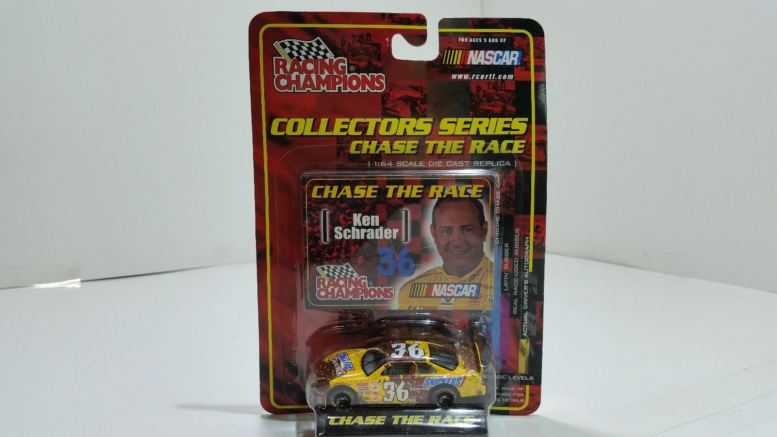 NASCAR Racing Champions Chase The Race Ken Schrader Number 36 Collectible